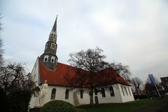 The church St. Jürgen in Heide (Holstein) Royalty Free Stock Photography
