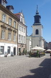 Church of St. Jack in Warsaw's New Town Royalty Free Stock Photos