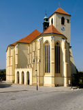 Church of St. Jacob in Boskovice. Stock Photo