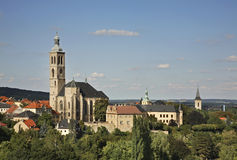 Church of St. Jacob in Kutna Hora. Czech Republic Royalty Free Stock Image