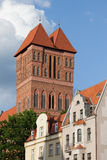 Church of St Jacob Tower in Torun Stock Photography