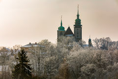 Church of St. James the Greater in Jihlava, Czech Republic Stock Photography