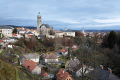 Church of St. James in Kutna Hora, Czech Republic Royalty Free Stock Image