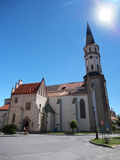 Church of St. James in Levoca Stock Image