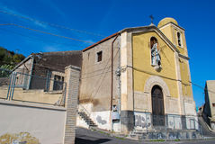 Church of St. James in Paterno. Sicily Royalty Free Stock Photography