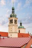 Church of St.James. Prague.  Czech Republic. Royalty Free Stock Images