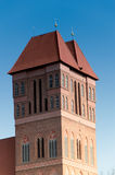 Church of St. James in Torun, Poland stock photos