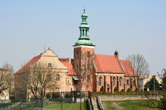 Church of St Jan Chrzcicela in Gniezno. Stock Photo