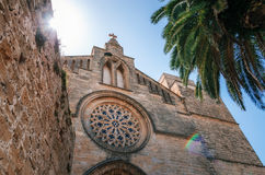 Church of St. Jaume in Alcudia, Mallorca Stock Photos