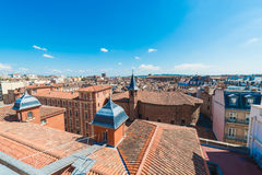 Church St. Jerome in Toulouse, France. royalty free stock photography