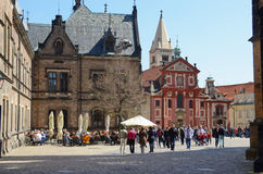 Church of St. Jiří at Prague Castle Stock Images