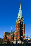 Church. St Johannes Church in Stockholm, Sweden Stock Photography