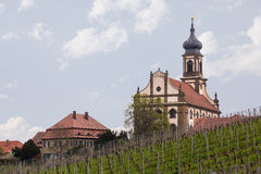 Church St Johannis or Johannes in Castell Germany Royalty Free Stock Photos