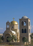 Church of St. John the baptist. The Greek Orthodox church of St. John the baptist near the Jordan river in Qasr al yahud , Israel Stock Images
