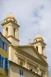Church st. john the baptist Bastia Corsica Stock Photography