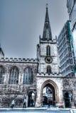 Church of St John the Baptist Facade from Nelston Street Royalty Free Stock Photos