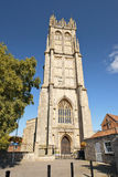 Church of St John the Baptist, Glastonbury, Somerset, England Royalty Free Stock Images