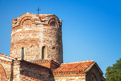 Church of St. John the Baptist in old Nesebar, Bulgaria Royalty Free Stock Images