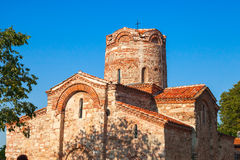 Church of St. John the Baptist in old Nessebar, Bulgaria Stock Images