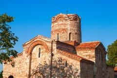 Church of St. John the Baptist in old Nessebar, Bulgaria Stock Images