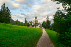 Church of St. John the Baptist in Ribchev Laz village Royalty Free Stock Images
