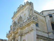 Church of St John the Baptist at Rosario in Lecce in Italy Royalty Free Stock Image