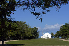 Church of St. John the Baptist in Trancoso Bahia Royalty Free Stock Photography