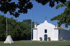 Church of St. John the Baptist, in Trancoso, Bahia Stock Image
