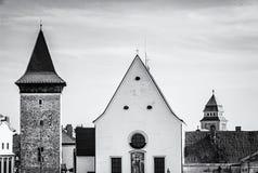Church of St. John the Baptist, Znojmo, colorless Royalty Free Stock Photos