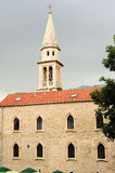 The church of St. John at Budva Stock Photos