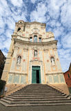 Church of St. John of Cervo, Italy Stock Image