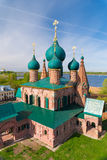 Church of St. John Chrysostom in Yaroslavl. Golden ring of Russia stock image