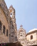 Church of St. John in the desert, the area of Jerusalem Stock Photos