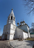 Church of St. John the Divine in Ipatyevskaya settlement Stock Photos