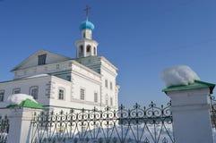 Church of St. John the Divine. Russia.Cherdyn. Stock Image