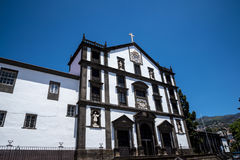 Church of St John the Evangelist in the Regional Government area of Funchal. It is the college church of the University of Funchal Royalty Free Stock Photography