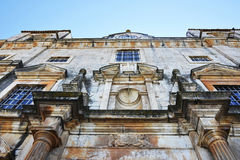 Church of St. John the Evangelist, Travel Architecture Arts and Religion, South Portugal Stock Photo