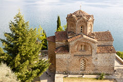 Church of St. John at Kaneo. Royalty Free Stock Photography