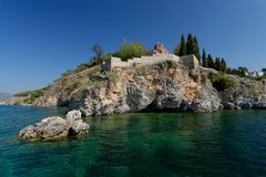 Church of St. John at Kaneo, Ohrid Stock Photography