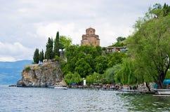Church of St. John at Kaneo - Ohrid, Macedonia Royalty Free Stock Photos
