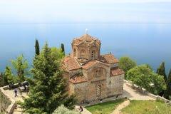 Church of St. John Kaneo in Ohrid, Macedonia Royalty Free Stock Photography
