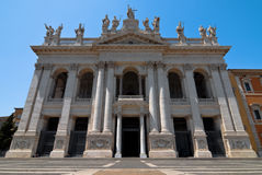 Church of St. John Lateran in Rome Stock Photo