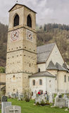 Church of St. John in Mustair, UNESCO World Cultural Heritage, S Royalty Free Stock Photo