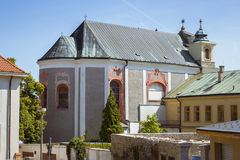 The church of st. John of Nepomuk (Kostel svateho Jana Nepomuckeho) Royalty Free Stock Photos