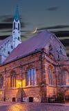 Church of St John in old Riga city, Latvia Stock Image