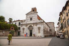 Church of St. John and Santa Reparata in Lucca Royalty Free Stock Photography