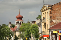 Church of St. John Theologian in Chelm. Poland Stock Image