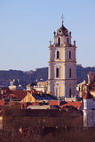 Church of St. Johns in Vilnius Stock Photos