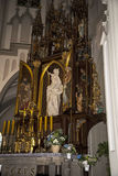 Church of St Josef in Krakow Poland Stock Image
