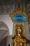 Church of St Josef in Krakow Poland Royalty Free Stock Images